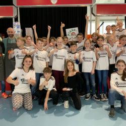 Sportklasse der Gesamtschule Marienheide stellte erneut das Catering für das Landesfinale der Handball-Schulmeisterschaften in der Schwalbe-Arena