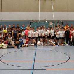 Handballturnier in Jahrgang 5: Die die Mädchen der Sportklasse wurden Stufenmeister