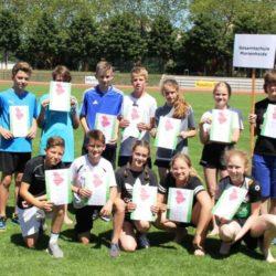 Marienheider Gesamtschüler beim Nordrhein-Finale der Leichtathletik in Duisburg