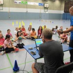 Gesamtschule Marienheide sichtet 5er-Schüler/innen im Handball