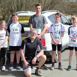 Marienheider Gesamtschüler erprobten bei der Cross-Duathlon-Challenge eine neue Sportart