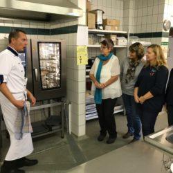 Breaking News: Neuer Dampfkonvektomat in der Mensa der Gesamtschule Marienheide