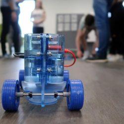 Exkursion zum neuen Schülerlabor am :metabolon