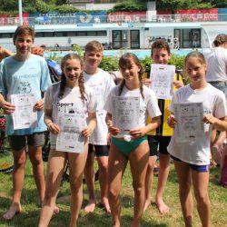 Gesamtschule Marienheide errang einen guten Mittelfeldplatz bei Landesmeisterschaften im Triathlon in Bochum
